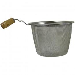 Filtre passe thé en métal 6,8cm avec poignée