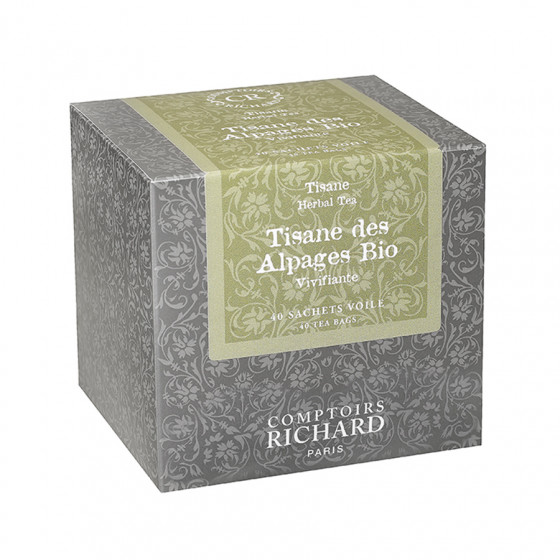 Tisane des Alpages bio boîte sachets voile x40
