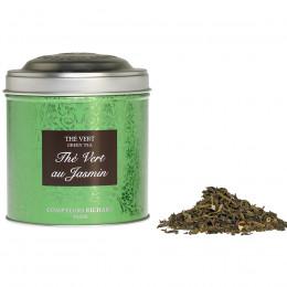 Thé vert au Jasmin boîte métal vrac 100g