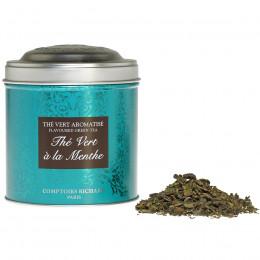 Thé vert à la Menthe boîte métal vrac 80g