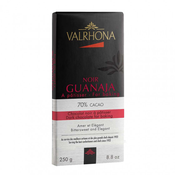Tablette de chocolat noir 70% Guanaja 250g