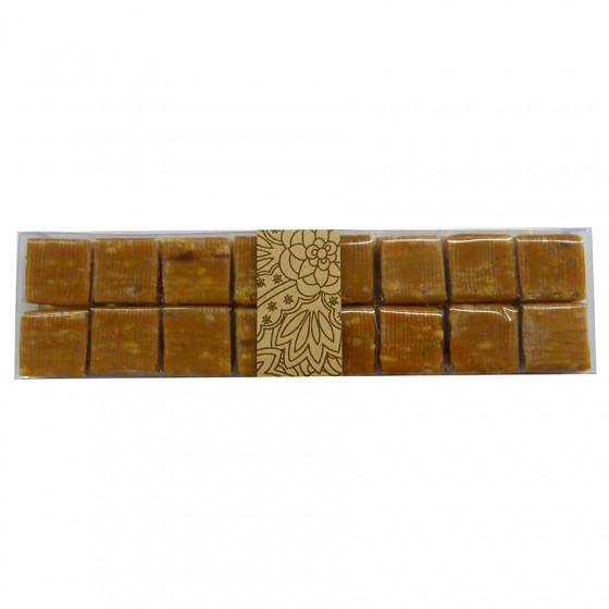 Réglette de 16 caramels à la noisette 145g