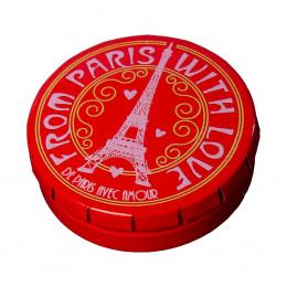 Étui métal pastilles menthe Paris Tour Eiffel 11,5g