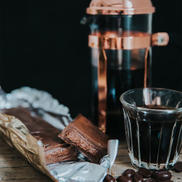 Cafetière à piston cuivrée Chambord 8 tasses Bodum