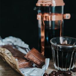 Cafetière à piston cuivrée Chambord 3 tasses Bodum