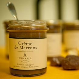 Crème de marrons de l'Ardèche Maison Charaix pot 245g