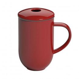 Tisanière rouge 45cl