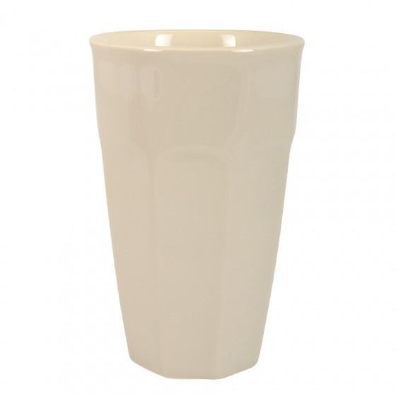 Gobelet à café latte beige