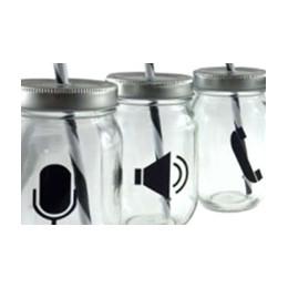 Mug Mason Jar Geek 45,5cl
