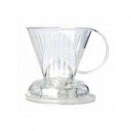 Porte filtre Dripper en plastique 1 à 4 tasses Clever