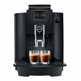 Robot café JURA WE6 Pianoblack et 5 paquets de 250g de café en grains et 4 verres double parois Cafés Richard offerts