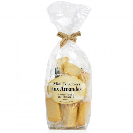 Sachet garni de mini financiers amande 150g