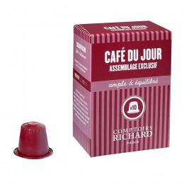 Assemblage Café du jour capsules compatibles Nespresso® x10