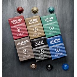 Assemblage Café Finca capsules compatibles Nespresso® x10
