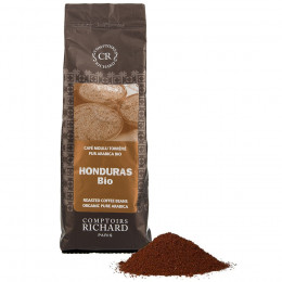 Café bio moulu pur Arabica Honduras sachet souple 250g