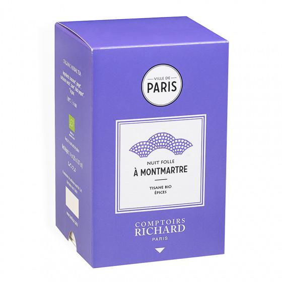 Tisane Bio épices Nuit Folle à Montmartre sachets mousseline x20