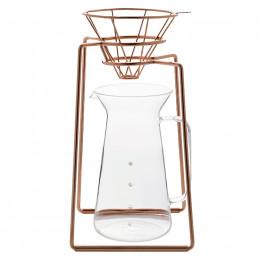 Kit de filtration douce cuivré H.A.N.D avec carafe 60cl
