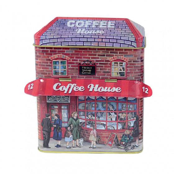 Boîte vide maison du café