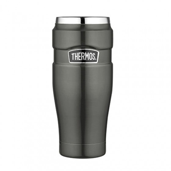 Travel mug King gris taupe 47cl