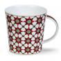 Mug Cairngorm Medina motif étoile rouge Dunoon 48cl