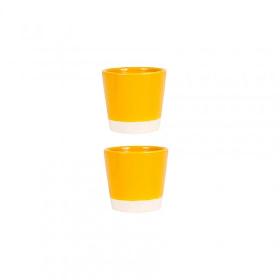 Gobelet jaune 10cl