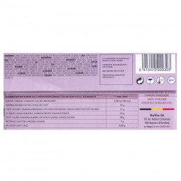 Tablette de chocolat noir 60% au café moulu 70g