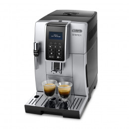 Robot café Delonghi Dinamica FEB 3535.SB et 2 paquets de 250g de café en grains et 4 verres expresso Cafés Richard 5cl offerts