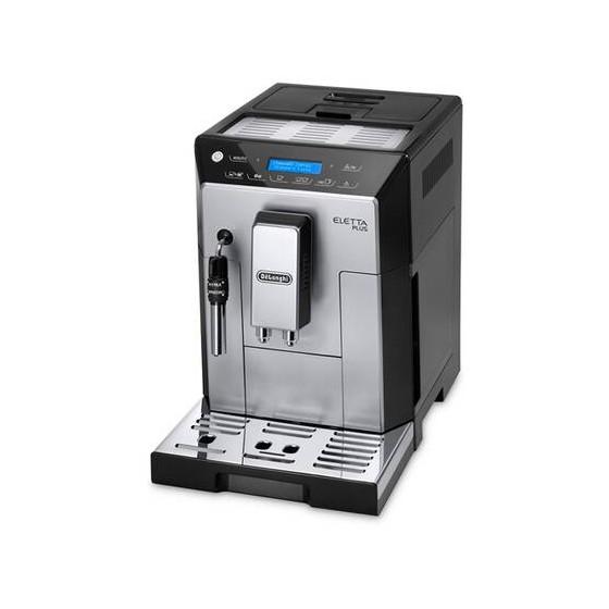 Robot café Delonghi Eletta Plus 44.620.S et 2 paquets de 250g de café en grains offerts