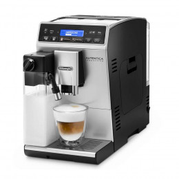 Robot café Delonghi Etam 29.660.SB + 3 paquets de 250g de café en grains et 2 verres expresso Cafés Richard 8cl offerts