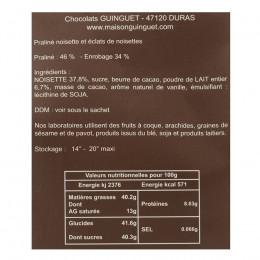 Étui cokinettes praliné noisettes 150g