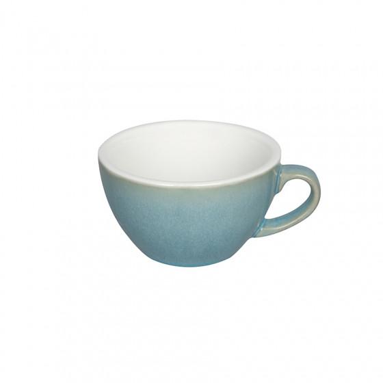 Tasse Egg Cappuccino bleu irisé 20cl