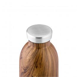 Bouteille isotherme double paroi sequoia wood 50cl