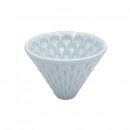 Dripper porcelaine bleu céladon