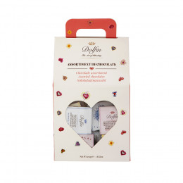 Assortiment de chocolats love 250g