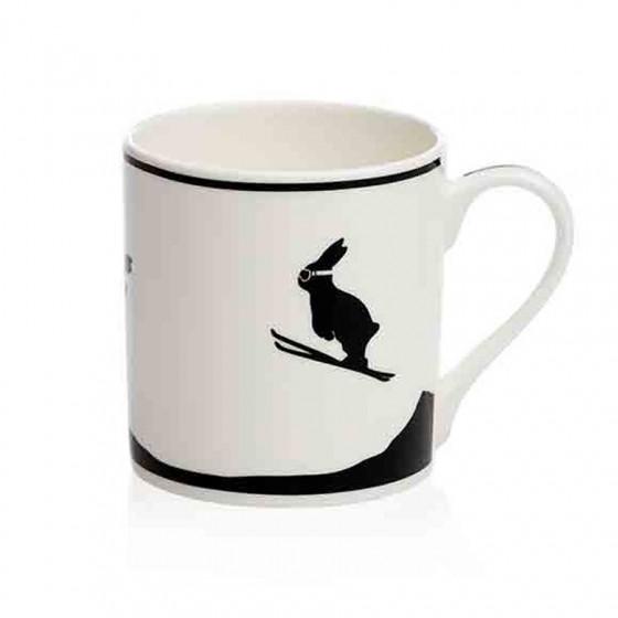 Mug motif lapin ski 30cl