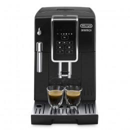 Robot café Delonghi Dinamica FEB 35.15B et 2 paquets de 250g de café en grains et 4 verres expresso Cafés Richard 5cl offerts