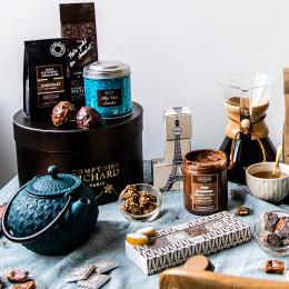 Café moulu Moka d'Ethiopie aromatisé au chocolat 125g