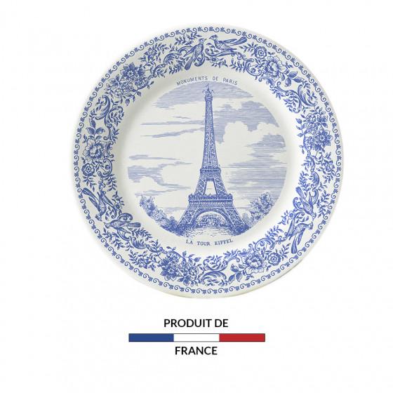 Assiette mignardises Tour Eiffel