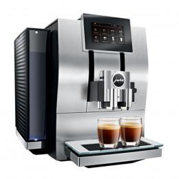 Robot café JURA Z8 Aluminium et 5 paquets de 250g de café en grains et 4 verres double parois Cafés Richard offerts