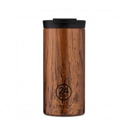 Mug isotherme double paroi sequoia wood 60cl