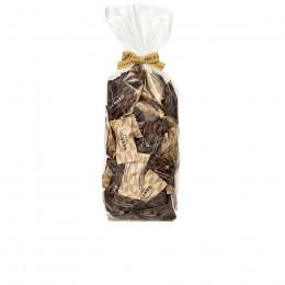 Sachet garni de duo d'amandes cacaotées 220g