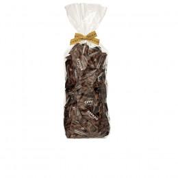 Sachet garni d'amandes cacaotées chocolat noir 220g