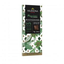 Tablette de chocolat noir 64% Manjari 70g