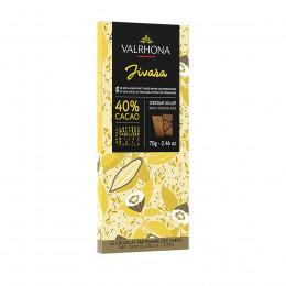 Tablette de chocolat au lait 40% Jivara 70g