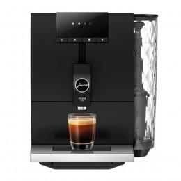 Robot café JURA ENA 4 Black et 2 paquets de 250g de café en grains et 4 verres expresso Cafés Richard 5cl offerts